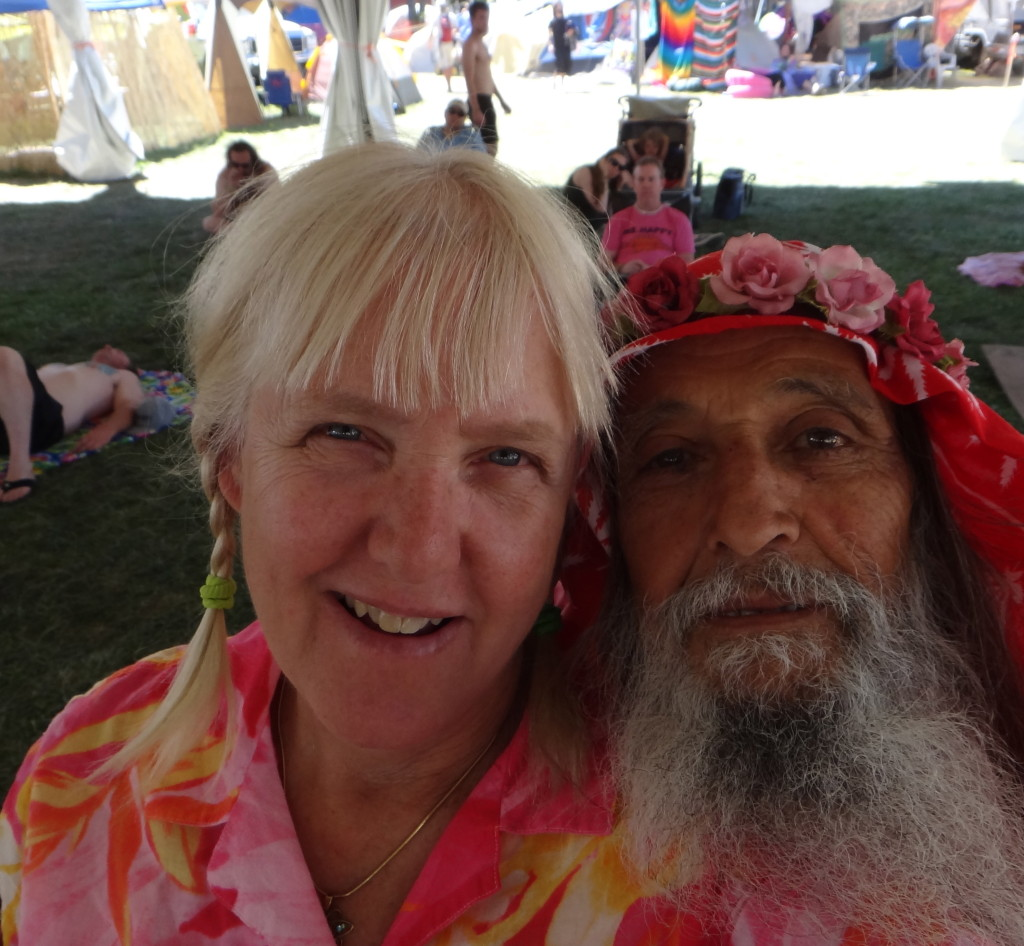 Marcy and Primo at High Sierra Music Festival.