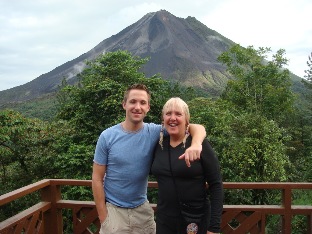 Brian and I in Costa Rica